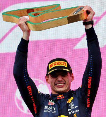 Ahora en el Red Bull Ring, otra vez gana Verstappen de punta a punta