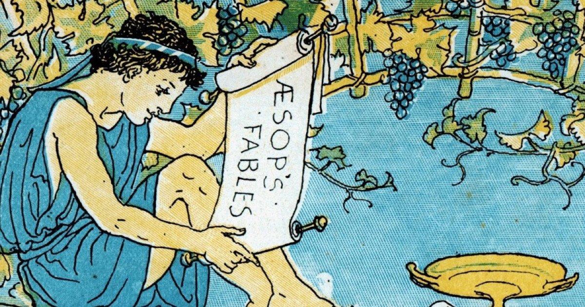 La fábula de Esopo, traducción y la sabiduría de los pueblos antiguos