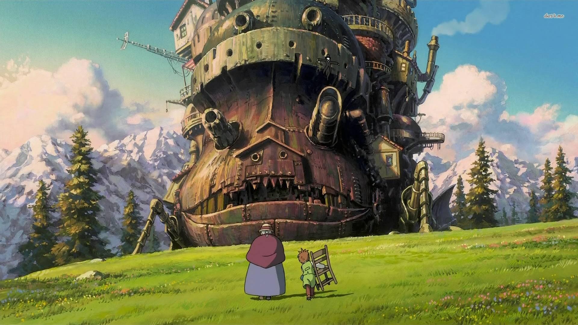 Lugares extraordinarios en  las películas de Hayao Miyazaki