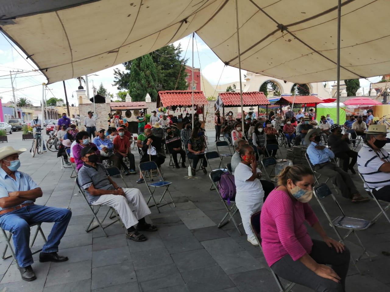 18 de julio en Santa María Tonantzintla: asamblea popular hacia la Consulta Indígena