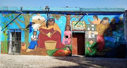 """""""El mural que debió ser"""": una obra rescatada por los feminismos"""