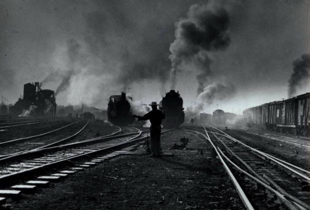 Trenes perdidos en la oscuridad