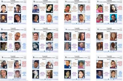 Insisten IBERO Puebla y colectivos en ley para encontrar a 2,700 desaparecidos
