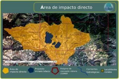 En Ixtacamaxtitlán, una vez más denuncian a Almaden Minerals