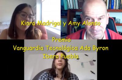 Kiara y Amy, la realización de un sueño científico con el Premio Ada Byron