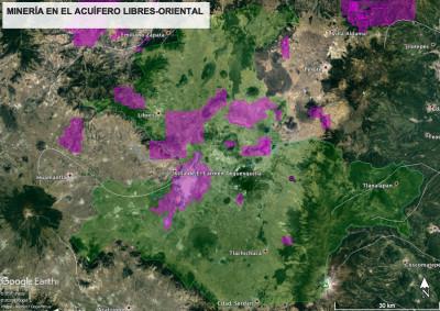 La devastación hídrica subterránea, superficial y atmosférica en la cuenca Libres-Oriental