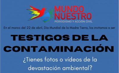 Testigos de la contaminación en Puebla / Invitación de Mundo Nuestro