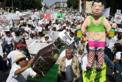 Febrero de 2006, la masa que no pudo derrocar a Mario Marín