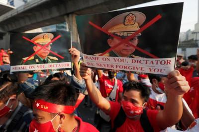 Golpe de Estado en Myanmar:  la vuelta de los militares, que nunca se fueron