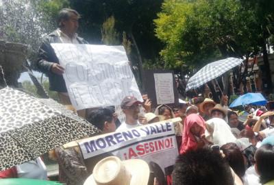 La represión a los movimientos sociales en tiempos de Moreno Valle