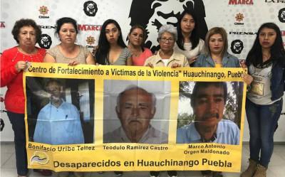 Las familias dan voz a los desaparecidos en Puebla