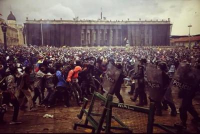 La rabia desborda Colombia